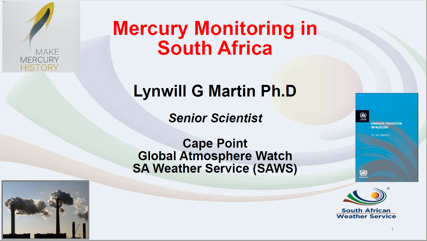 First page of Mercury Monitoring in South Africa